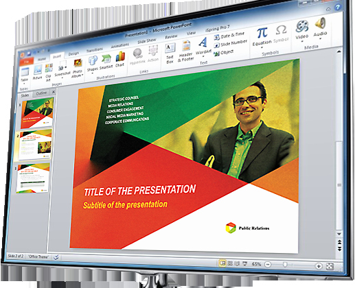 Microsoft PowerPoint Templates Designs