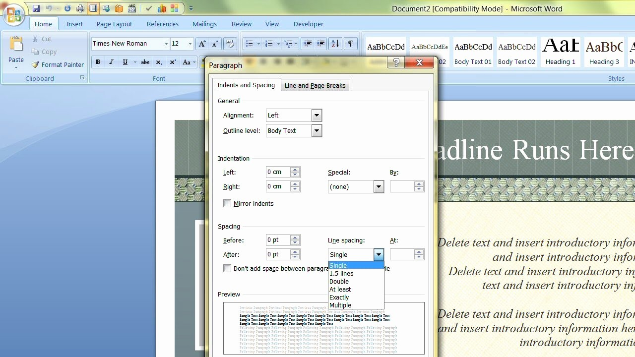 Ms Office Templates for Word Awesome How to Change the Default Template In Microsoft Word