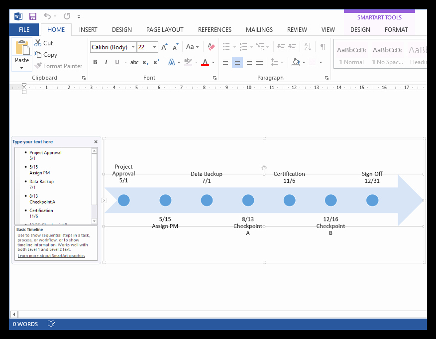 Ms Office Timeline Add On Fresh How to Make A Timeline In Microsoft Word Free Template