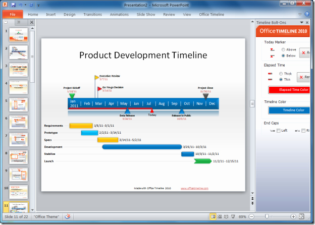 Ms Office Timeline Add On New Create Ms Powerpoint Time Lines Easily with Fice