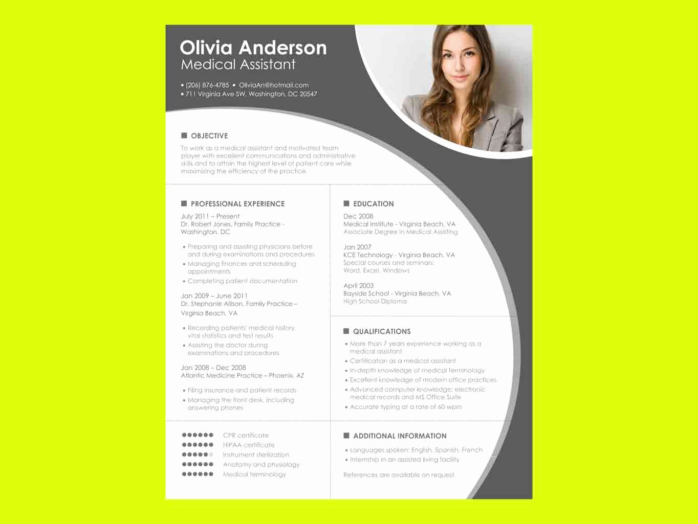 Ms Office Word Resume Templates Best Of Resume Templates Microsoft Word Free Download – Perfect
