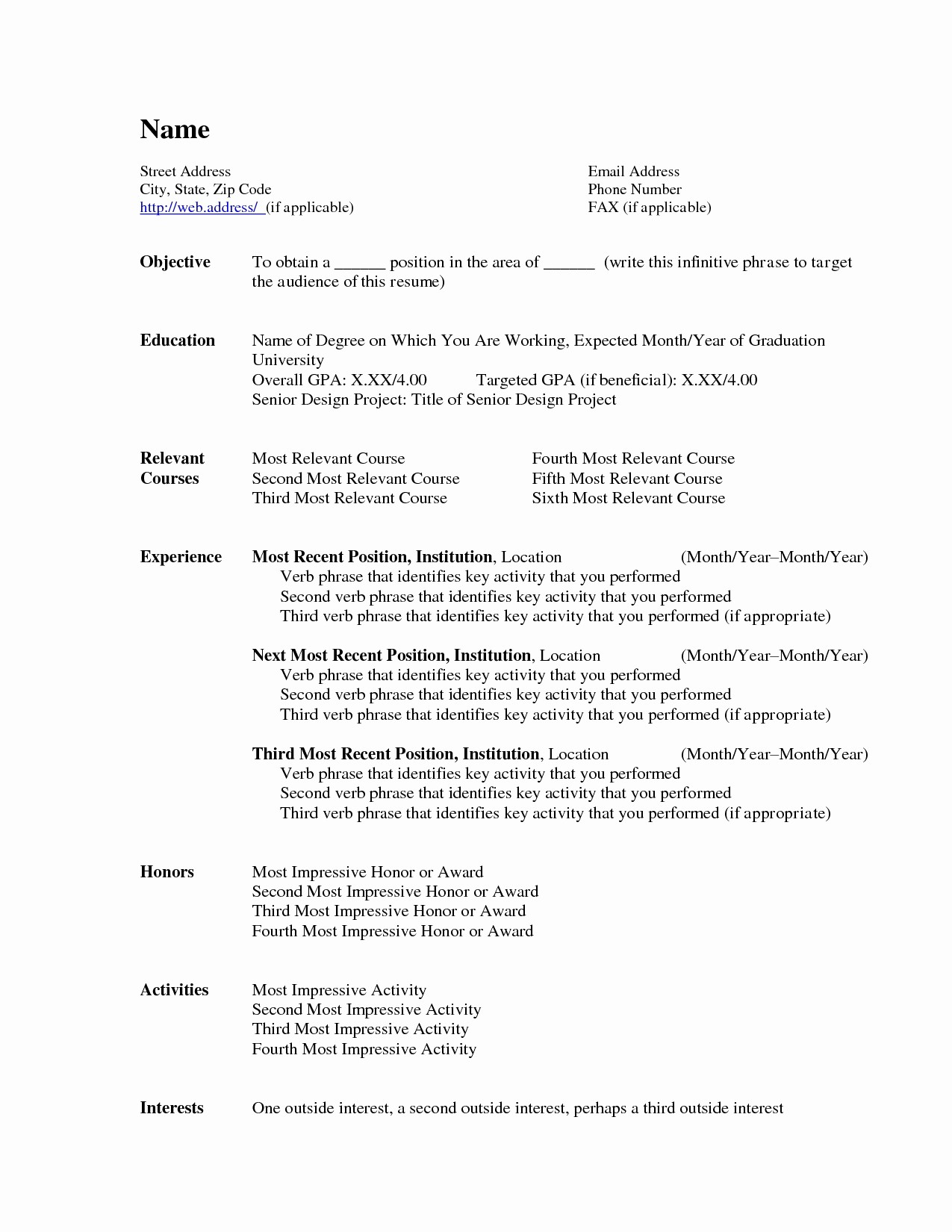 Ms Office Word Resume Templates Unique Microsoft Word Resume Templates Beepmunk