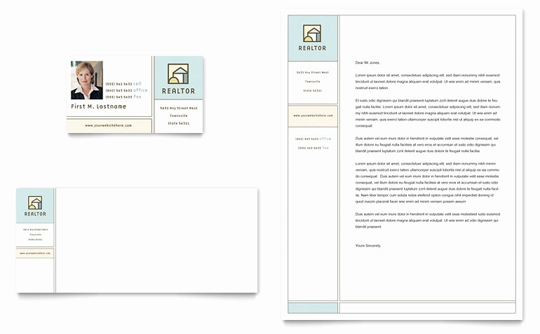 Ms Publisher Business Card Templates Lovely House for Sale Real Estate Business Card & Letterhead