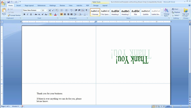Ms Word Birthday Card Template Beautiful Microsoft Word Recipe Template