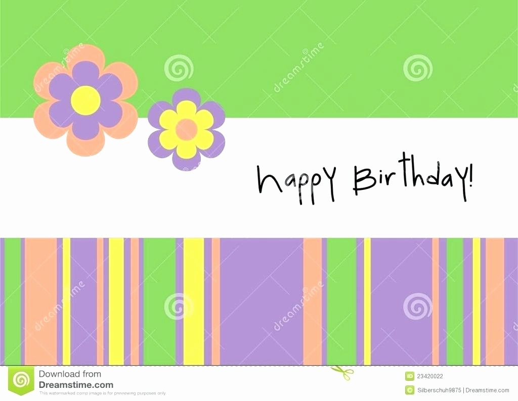 Ms Word Birthday Card Template Inspirational Template Happy Birthday Card Template Word