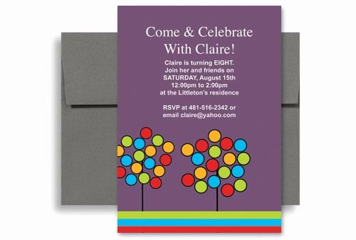Ms Word Birthday Card Template Unique Create Your Own Microsoft Word Birthday Invitation 5x7 In