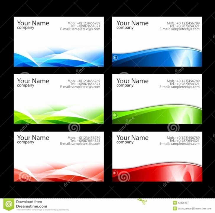 Ms Word Business Card Templates Unique Business Cards Templates Free Word – Microsoft Word