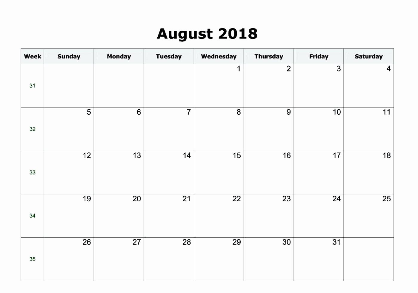 Ms Word Calendar Template 2018 Beautiful Microsoft Fice Calendar Template 2018 Microsoft Fice