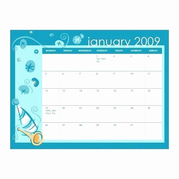 Ms Word Calendar Template 2018 Elegant Word Calendar Template Free Blank and Printable Templates