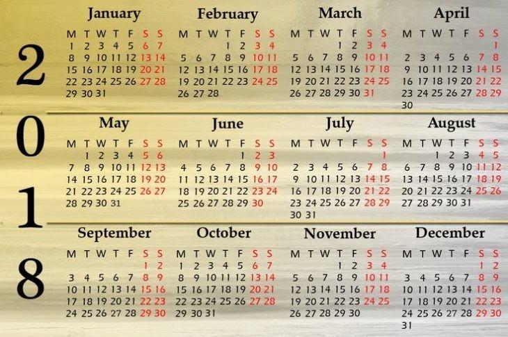 Ms Word Calendar Template 2018 Lovely 2018 Calendar Word Printable Template
