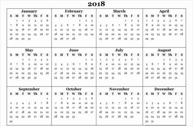 Ms Word Calendar Template 2018 New Microsoft Fice Calendar Template 2018 Templates Station