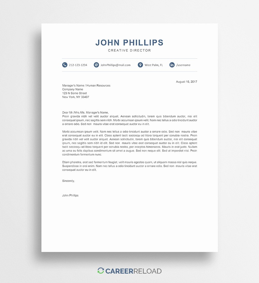 Ms Word Cover Letter Template Beautiful Free Cover Letter Templates for Microsoft Word Free Download