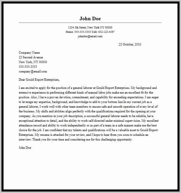 Ms Word Cover Letter Template Best Of Sample Cover Letter for Resume Microsoft Word Cover