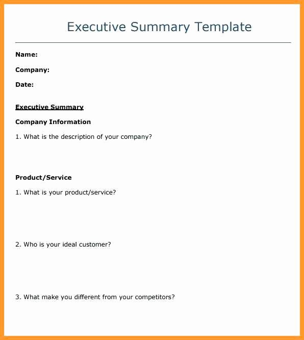 Ms Word Executive Summary Template Lovely 9 10 Case Brief Template Microsoft Word