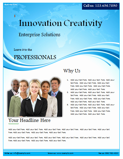 Ms Word Flyer Templates Free Awesome Flyer Templates Archives Microsoft Word Templates