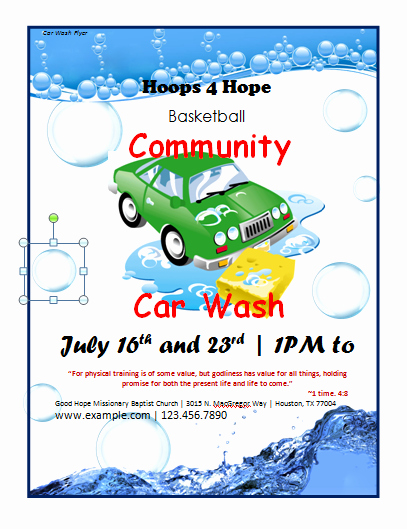 Ms Word Flyer Templates Free Inspirational Car Wash Flyer Template Microsoft Word Templates