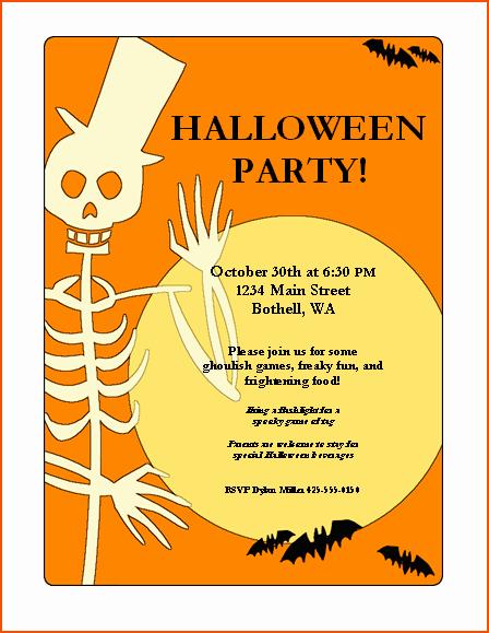 Ms Word Flyer Templates Free Luxury 7 Halloween Flyer Templates Bookletemplate