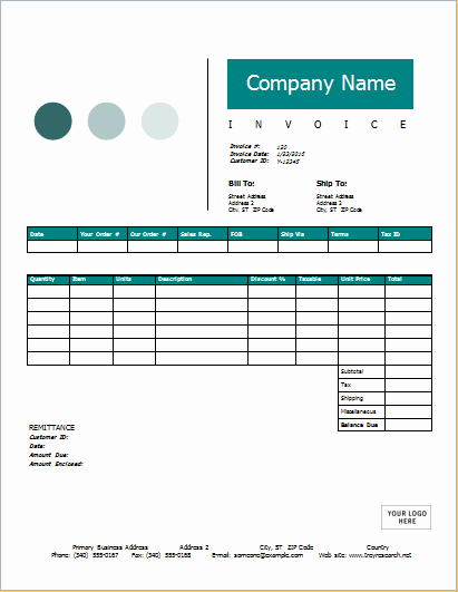 Ms Word Invoice Template Download Beautiful Sales Invoice for Ms Word Download at