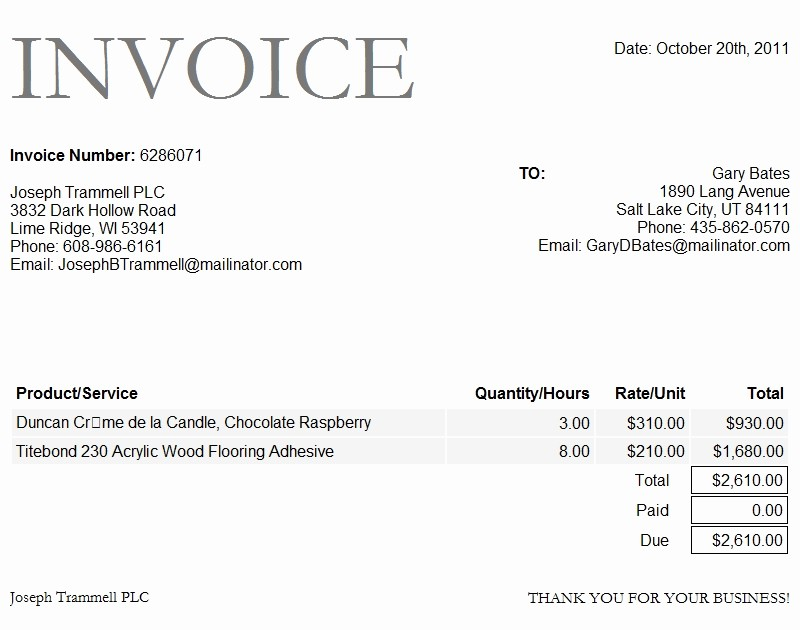 Ms Word Invoice Templates Free Best Of Microsoft Word Invoice Template 2010 Microsoft Word