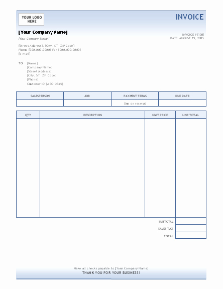 Ms Word Invoice Templates Free Elegant Invoice Template Invoices