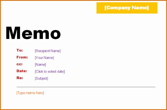 Ms Word Memo Templates Free Beautiful 6 Microsoft Word Memo Template