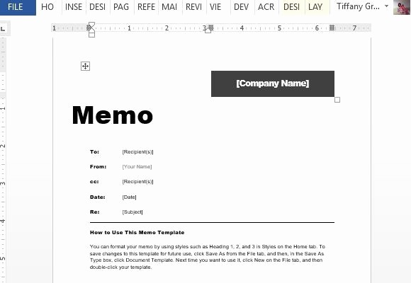 Ms Word Memo Templates Free Best Of Interoffice Memo Template for Word