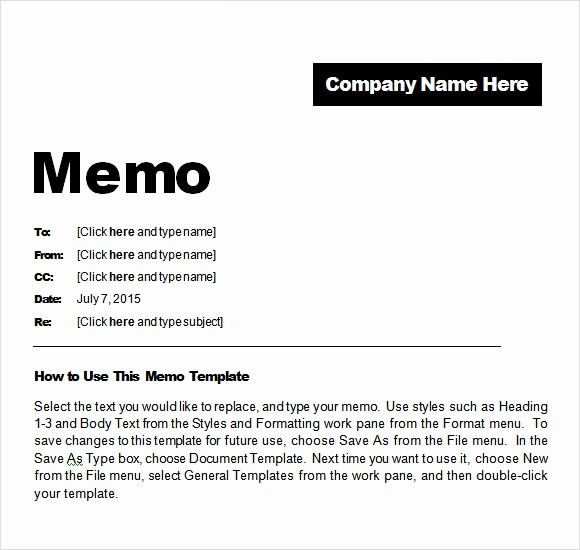 Ms Word Memo Templates Free Unique 8 Confidential Memo Samples