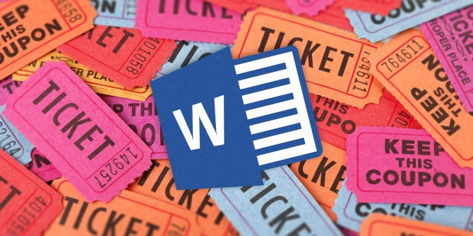 Ms Word Raffle Ticket Template Best Of How to Get A Free Raffle Ticket Template for Microsoft Word
