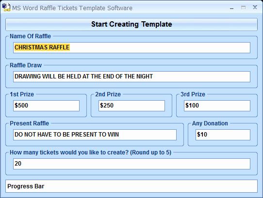 Ms Word Raffle Ticket Template Elegant Ms Word Raffle Tickets Template software