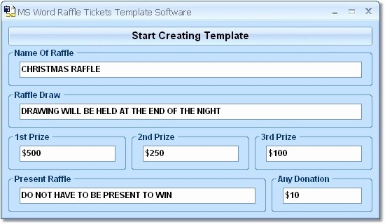 Ms Word Raffle Ticket Template Elegant Ms Word Raffle Tickets Template software Ware Version