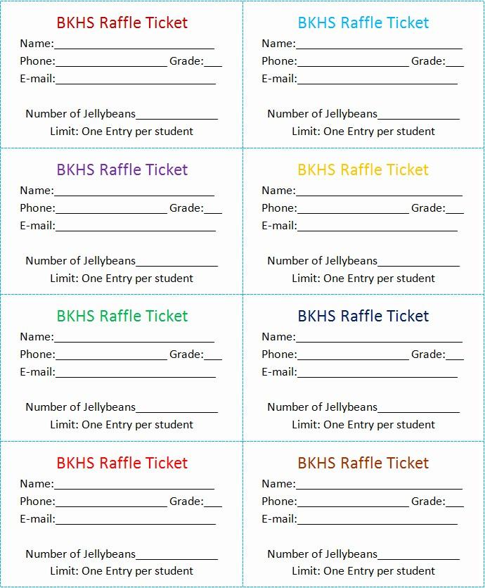Ms Word Raffle Ticket Template Luxury 30 Free Movie Ticket Templates Printable Word formats