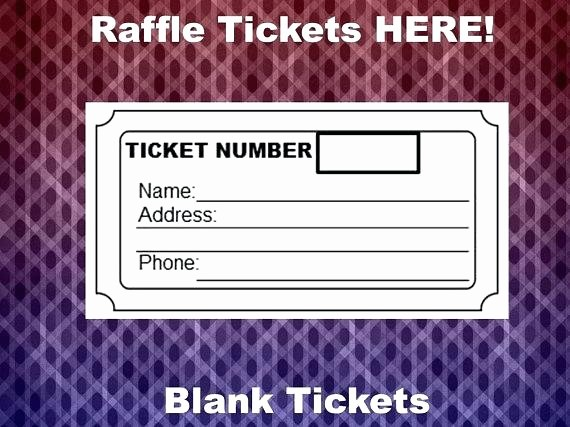 Ms Word Raffle Ticket Template Unique Ticket Templates 8 Per Page Inspirational Raffle Tickets