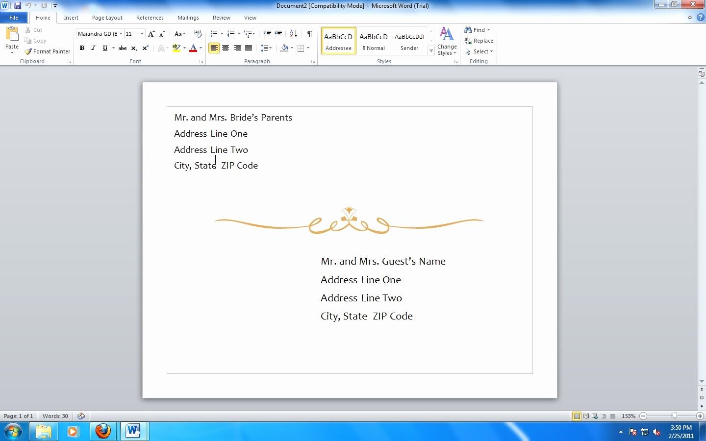 Ms Word Template Business Card Awesome 13 Best Microsoft Fice Word Business Card Template
