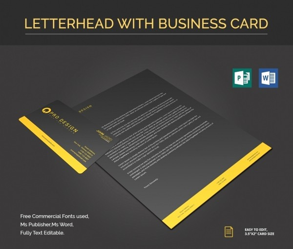 Ms Word Template Business Card Lovely 26 Microsoft Publisher Templates Pdf Doc Excel
