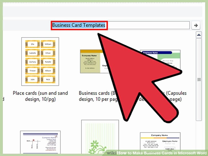 Ms Word Templates Business Cards Lovely How to Make Business Cards In Microsoft Word with
