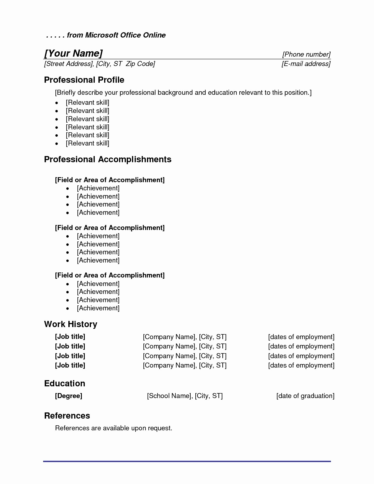 Ms Word Templates for Resume Fresh Microsoft Fice Resume Templates Beepmunk