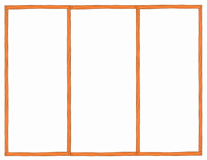 Ms Word Tri Fold Template Best Of Blank Brochure Mughals
