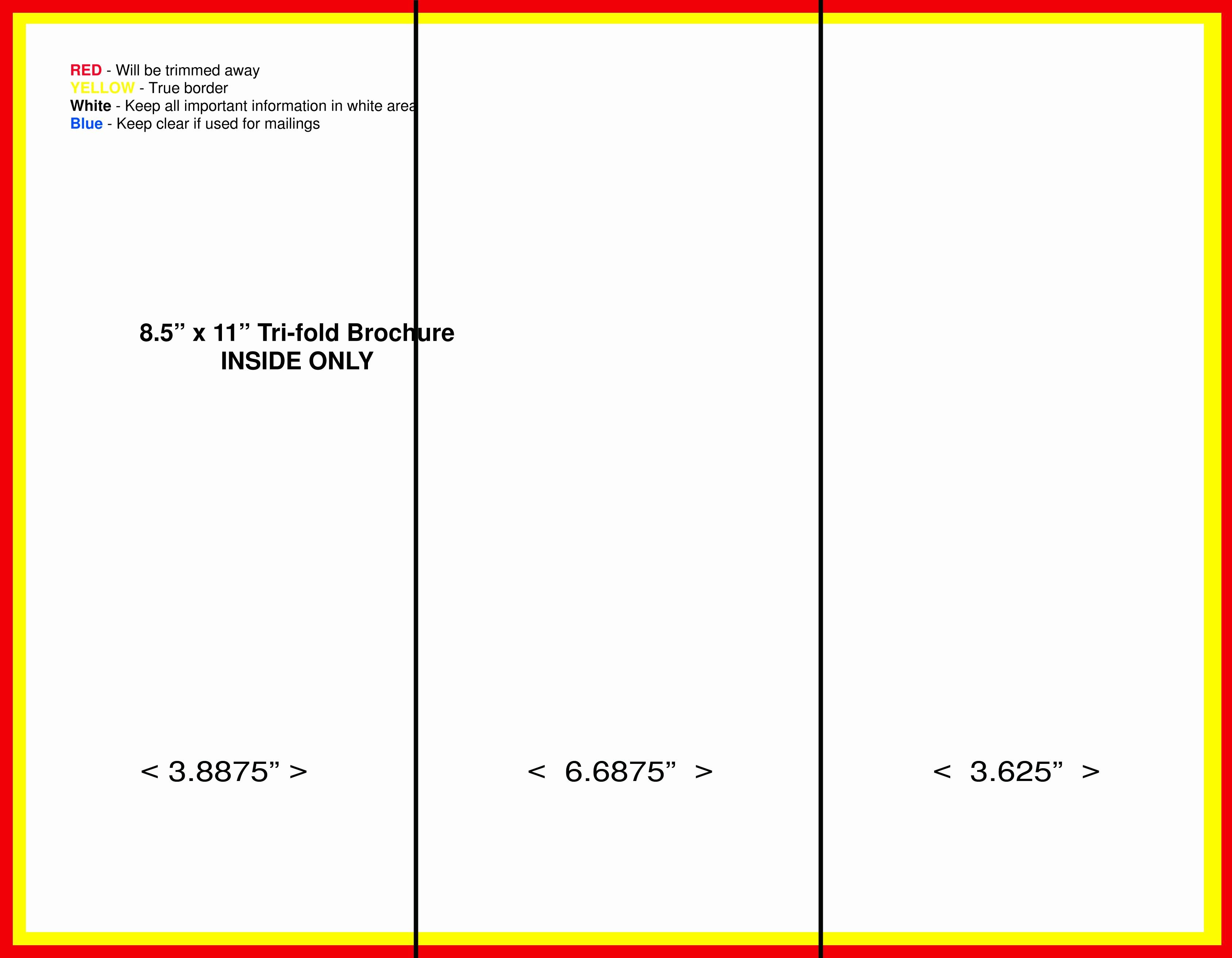 Ms Word Tri Fold Template Fresh Tri Fold Brochure Template Microsoft Word