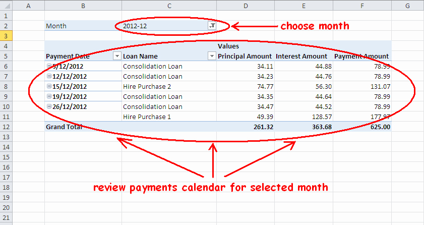 Multiple Loan Repayment Calculator Excel Awesome Multiple Loan or Mortgage Payment Schedule Calculator In