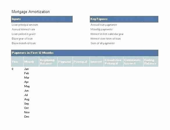 Multiple Loan Repayment Calculator Excel Beautiful Mortgage Amortization Spreadsheet Excel Template Schedule