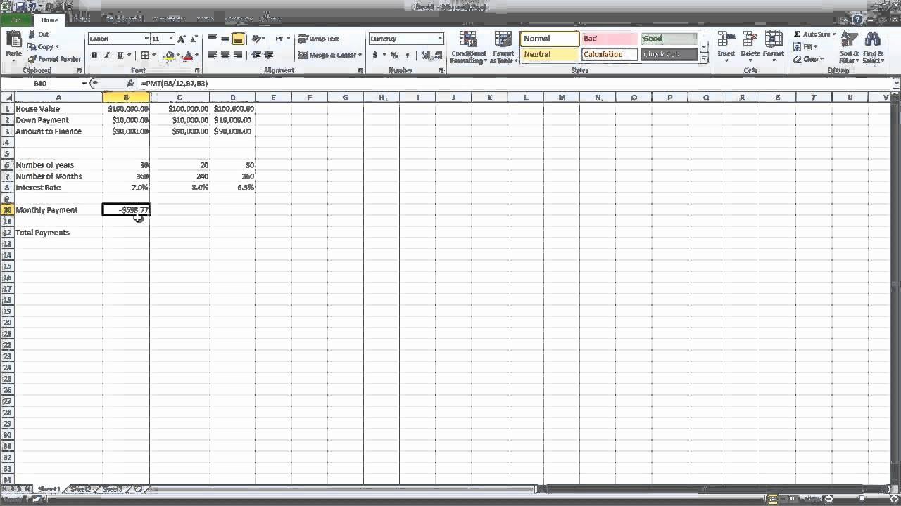 Multiple Loan Repayment Calculator Excel Luxury 12 2 Loan Calculator with Multiple Scenarios Ms Excel