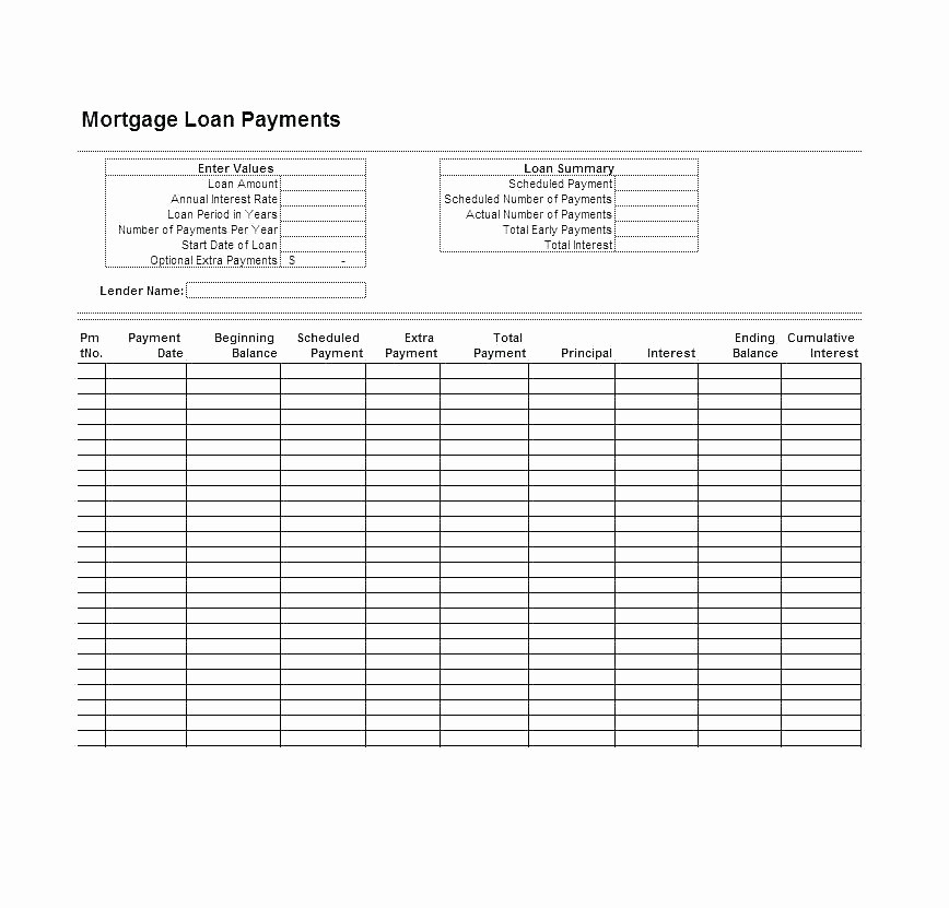 Multiple Loan Repayment Calculator Excel New Credit Card Amortization Excel Template Debt Calculator