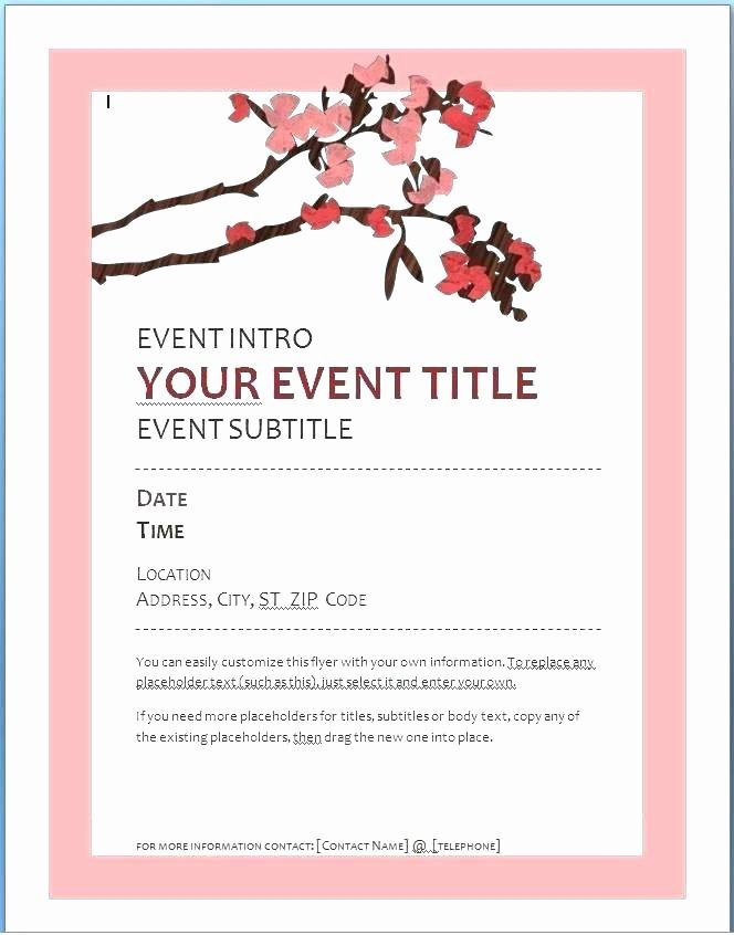 Music event Program Template Word Elegant Graduation Program Template event Luxury Music Word