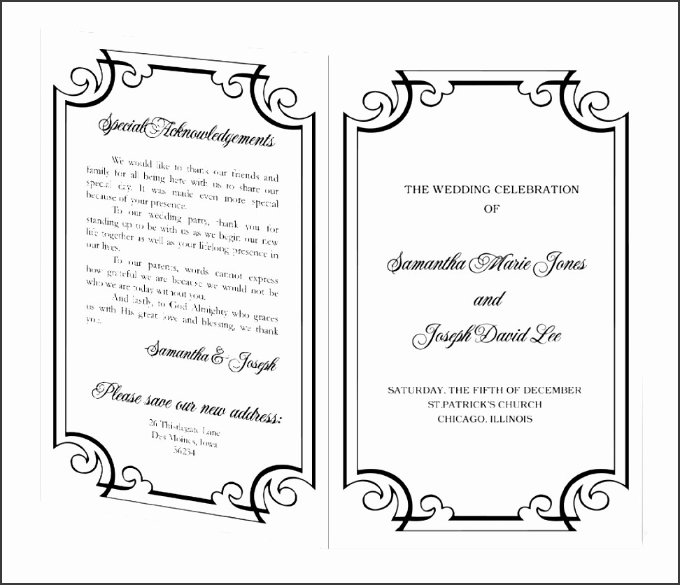 Music event Program Template Word Unique 10 Ms Word event Program Template Sampletemplatess