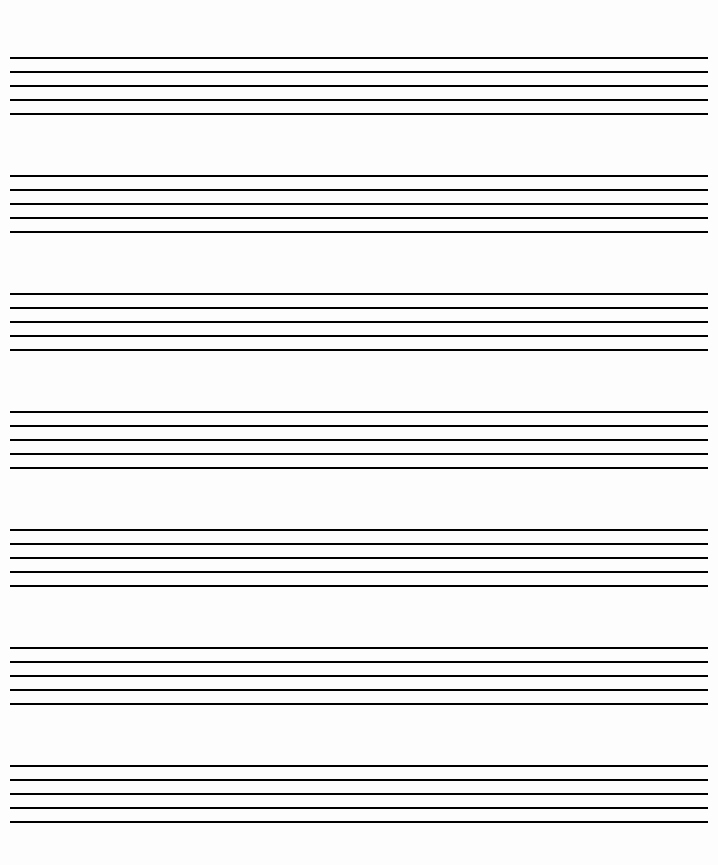 Music Staff Paper with Notes Fresh Music Paper