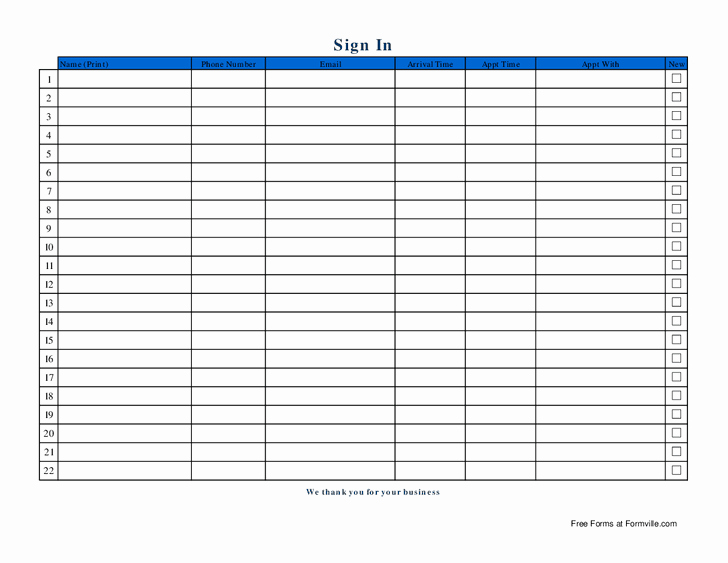 Name Email Sign Up Sheet Lovely Best S Of Name and Email Sign In Sheet Sign Up