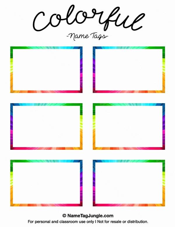 Name Plate Template for Word Awesome Printable Name Tag Templates