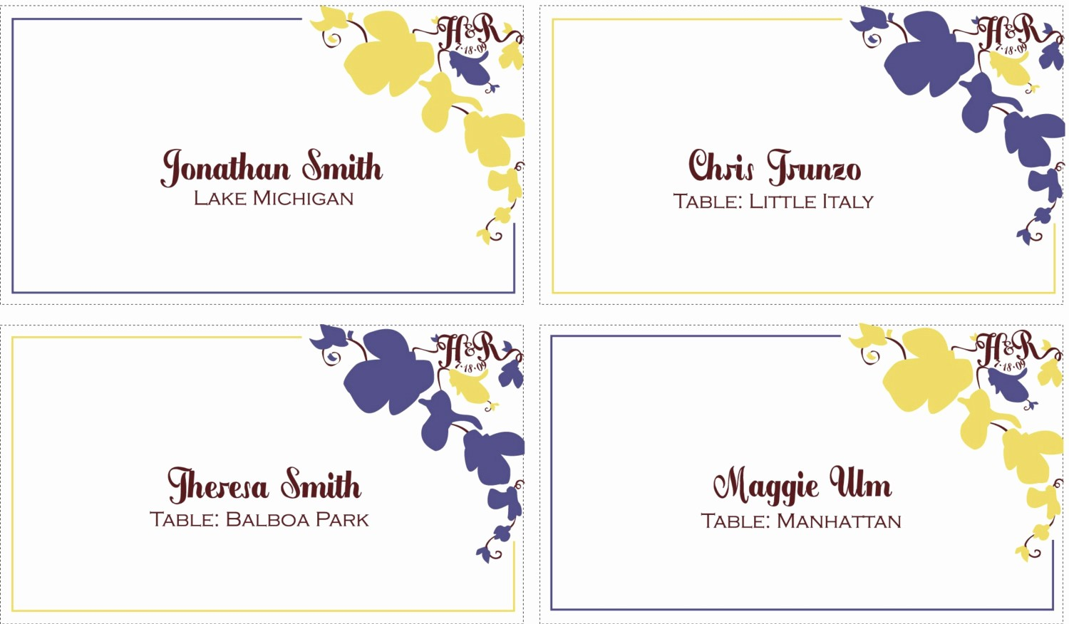Name Tag Table Tent Template Elegant 10 Best Of Table Place Card Templates Table Place