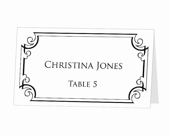Name Tag Table Tent Template Fresh Table Name Template Avery Name Plate Template Name Tent