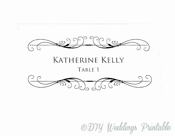 Name Tag Table Tent Template Fresh Table Tent Name Cards Template – Harriscateringfo